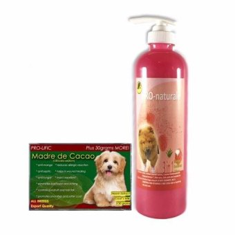 3 in 1 Shampoo, Conditioner and Cologne 500mL (Raspberry) and Pro-lific Madre de Cacao Organic Soap 130grams
