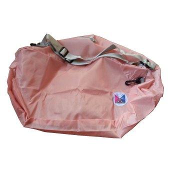 3 Ways Foldable Bag Pack (Peach)