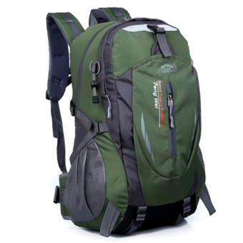 35L Outdoor Backpack for Hiking & Camping (Army Green)