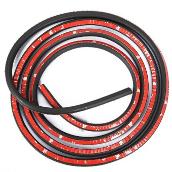 5 Meter Small D(5m*10mm*9mm ) Type Car Motor Door Seal Strip Weatherstrip Rubber Seal Sound Insulation Weatherstrip Seals Hollow - intl