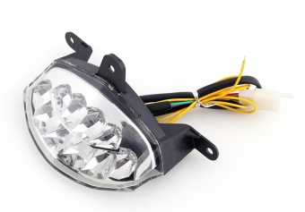 Areyourshop Integrated LED TailLight Turn Signals for KTM Duke 2002012-2013 Clear - intl