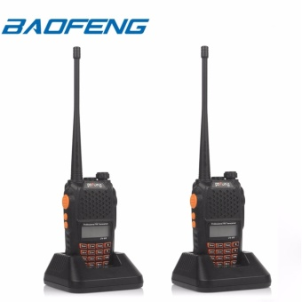 BAOFENG UV-6R Two-Way Radio Dual Band VHF/UHF SET OF 2