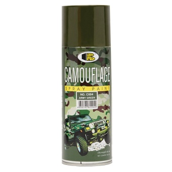 Bosny No. C004 Spray Paint (Camouflage Army Green)