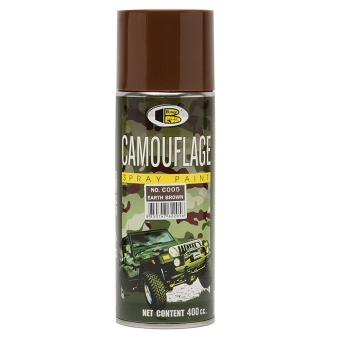 Bosny No. C005 Spray Paint (Camouflage Earth Brown)