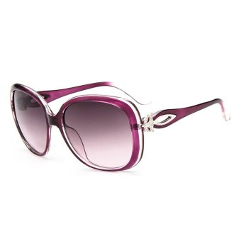 Brand Retro Sunglasses Polarized Lens Vintage Eyewear AccessoriesSun Glasses For Women UV400 - intl