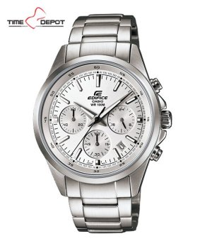 Casio Edifice Men's Silver Stainless Steel Strap Watch EFR-527D-7A