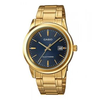 Casio Gold Plated Stainless Steel Strap Watch for MenMTP-VS01G-1ADF