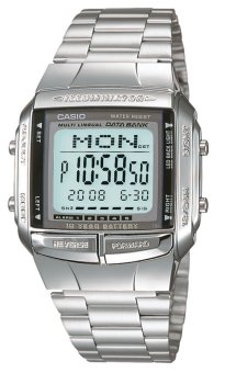 Casio Silver Stainless Steel Strap Women's Watch DB360 SILVER