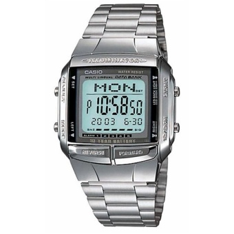 Casio Unisex Silver Stainless Steel Strap Watch DB360