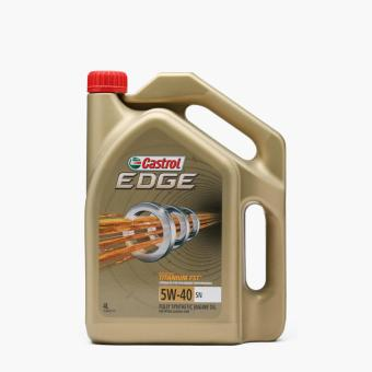 castrol edge 5w 40 sn fully synthetic engine oil 4l. Black Bedroom Furniture Sets. Home Design Ideas