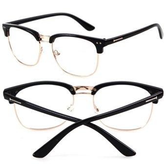 Eyeglasses Frame Cebu : Cocotina Fashion Vintage Retro Half Frame Clear Lens ...