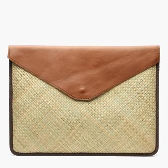 Crafts for a Cause by Kultura Tikog Latptop Case (Brown)