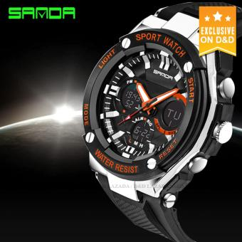 D&D SANDA 733 Sports/Waterproof Electronic Watch