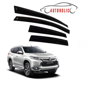 Door Visor for Mitsubishi Montero Sport 2016 to 2017