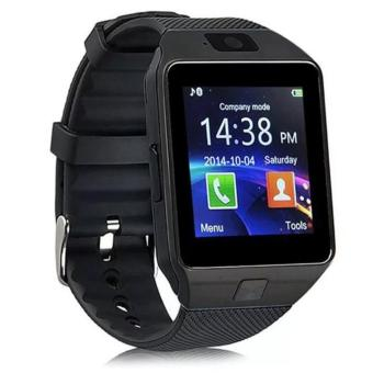 DZ09 Smart Watch Bluetooth Touch Screen for Android and iOS (black) - intl