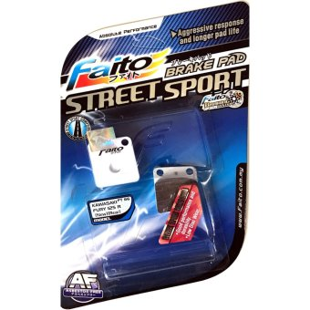 Faito Street Sport Racing Disc Brake Pad Kawasaki Fury 125 Rear(New 0043)