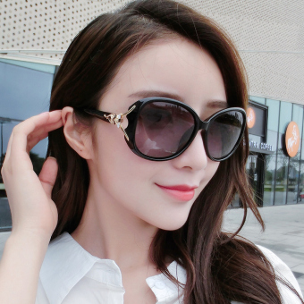 Female polarized glasses retro sunglasses