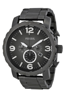 fossil nate mens grey rubber strap watch jr1437 lazada ph fossil nate men s grey rubber strap watch jr1437