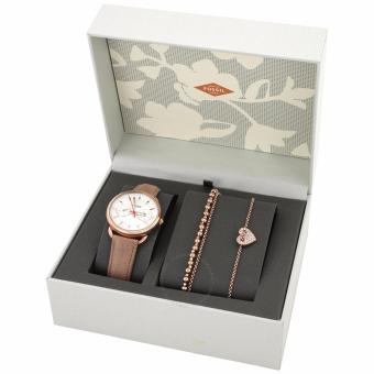 Help Fossil Tailor ES4201 Multifunction Leather Watch and Jewelry