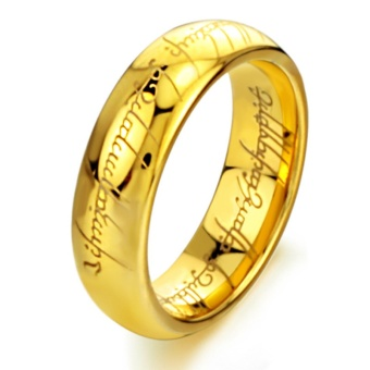 GG The Lord of the rings Titanium Men's ring rings male lovers ring- intl