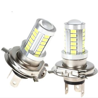 H4 Hi Lo LED Fog Light Bulb 33LEDs For CAR Driving Light Lamp Headlamp - intl