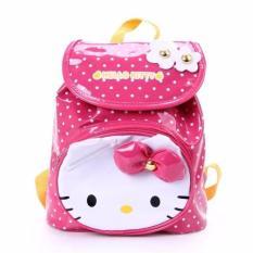 443e728e48 Kids Backpack Toddler Bag Children Fur Bag Soft Plush 3D Bear Stuffed Toy  School Bag (Hello Kitty Polka)PHP469. PHP 469