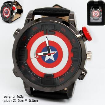 Kisnow America Fashion Movies Watches(Color:Captain) - intl