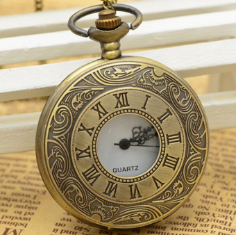 Korean-style Large Porous large pocket watch