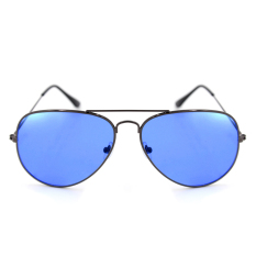 aviator style sunglasses z9ju  Maldives 000-Y Harper Aviator Style Sunglasses Transparent Blue/Gloss  Gunmetal