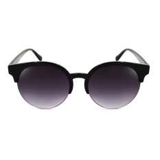 old ray ban sunglasses for sale  maldives 268 kaira retro fashion round cat eye browline frame sunglasses (gradient black/glossy black)