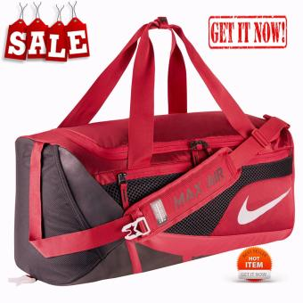 MENS BACK PACK AIR MAX RED VARSITY BAG SPORTS GYM SCHOOL MENSWOMENS BACKPACK BAG