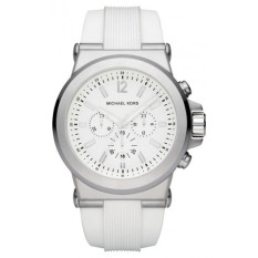 michael kors michael kors casual for prices michael kors dylan mens oversized silver and white watch mk8153