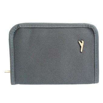 Mini Passport Holder (Grey)