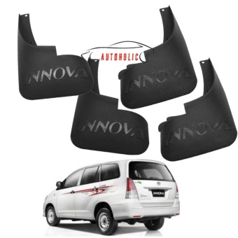 Mud Flap Splash Guard for Toyota Innova 2009-2015 J&E variant