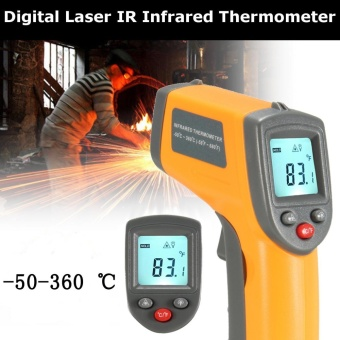 Non-Contact Digital Laser IR Infrared Thermometer Temperature tool -50? to 360? - intl