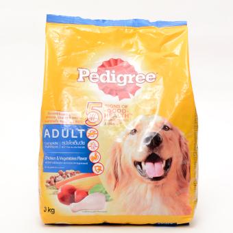 Pedigree Chicken and Vegetables Dry Dog Food 3kg