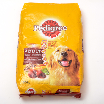 Pedigree Liver & Vegetable Dry Dog Food 20kg