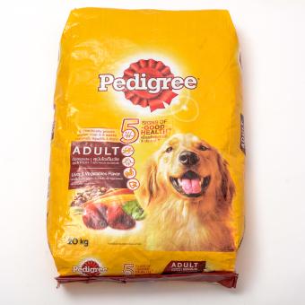Pedigree Liver & Vegetable Dry Dog Food 20kg