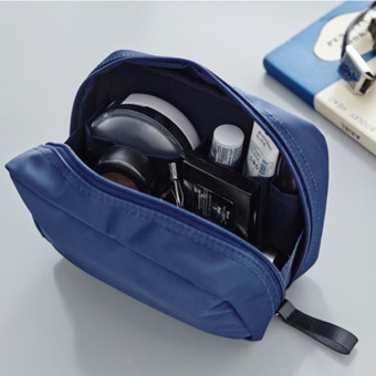 Portable mini cosmetic pouch makeup bag