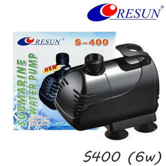 Resun S400 Submersible Water Pump for Aquarium Pond FountainWaterfall - 6 Watts