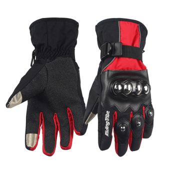Riding tribe waterproof motorcycle riding men women's gloves winter Motorcycle gloves
