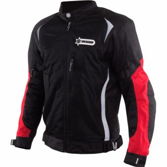 RYO RJ01 Motorcycle Jacket (Black/Red)