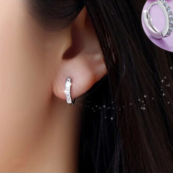 Snow Japan and South Korea small earrings