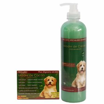 Specialized Dog Shampoo Madre de Cacao 500 mL and Pro-lific Madre de Cacao Organic Soap 135 grams, anti galis
