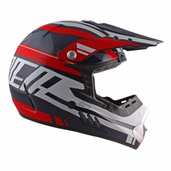 Spyder Motocross Helmet Dirt G 765 (Navy Blue/Red/White) -XL