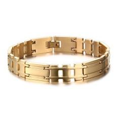 PHP 929. Steel Gold Health Bracelets Wristband Bangles ...