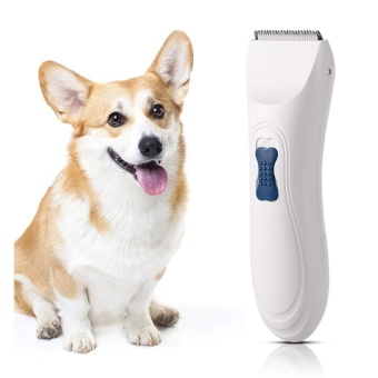 Sunweb Pet Low Noise Rechargeable Electric Clippers GroomingTrimming Kit Set - intl