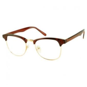 Toprank Korean Framed Glasses Plain Glass Spectacles ...