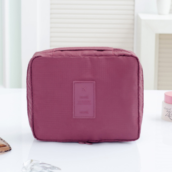 Travel large portable waterproof storage bag cosmetic bag