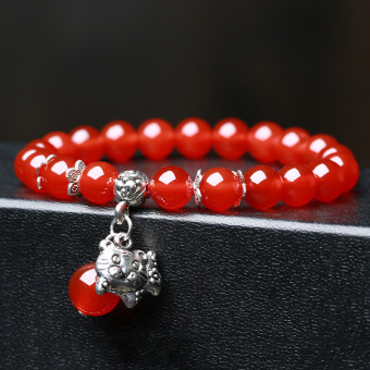 Twelve zodiac New style Red agate bracelet